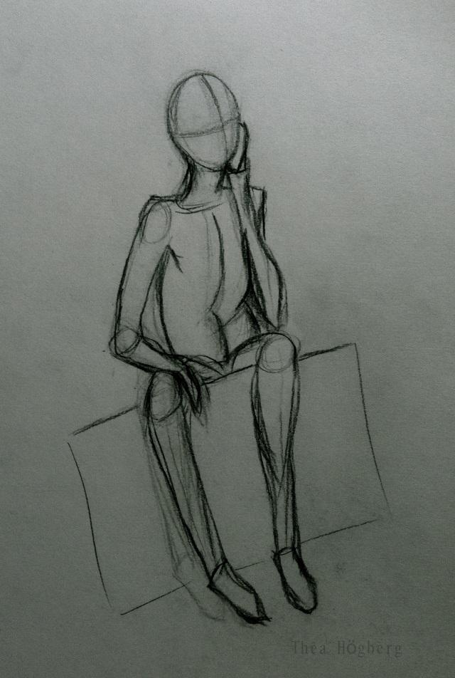 Sketch Sitting