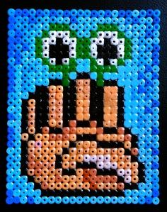 Nehman bead mosaic