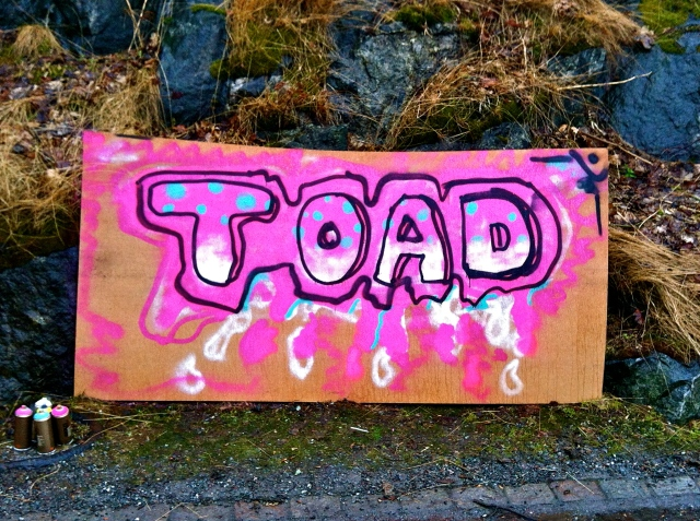 A wall named TOAD