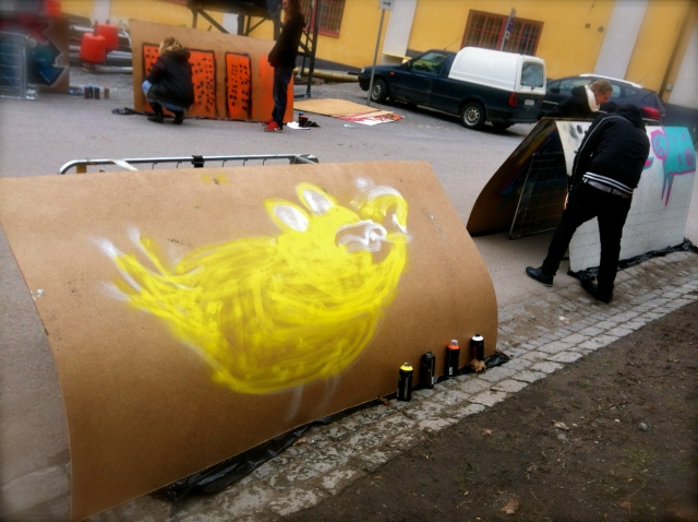 Quackhead Graffiti #2