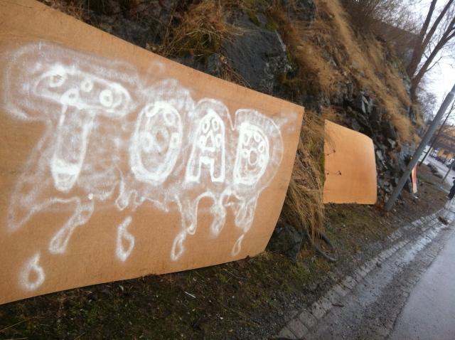 TOAD #4 graffiti