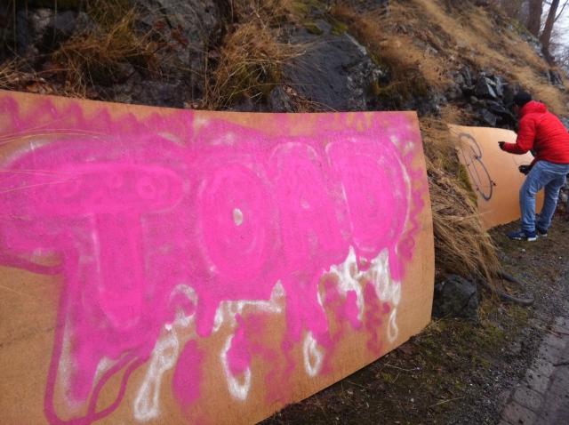 TOAD #6 Graffiti
