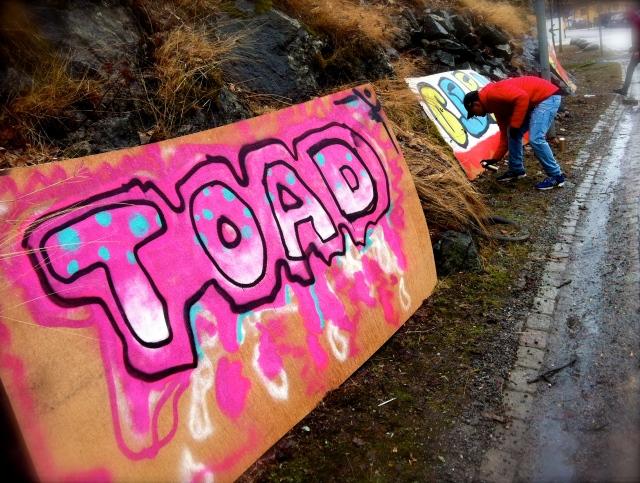 TOAD #8 Graffiti