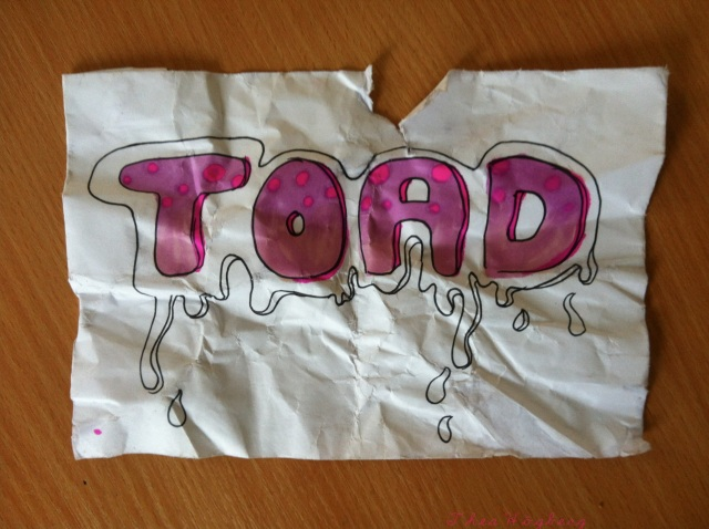 TOAD - graffiti #1