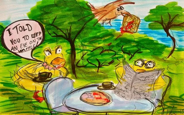 The Waffle #DuckStuff