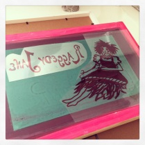 raggedy jane screen print #3
