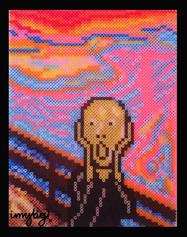 Skriet pixel art